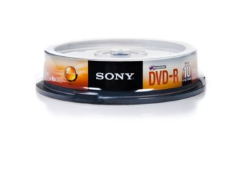Sony DVD-R 16x 4.7GB (10 CAKE)