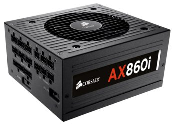 Corsair Professional Platinum Series AX860i 80+ Platinum Fully Modular