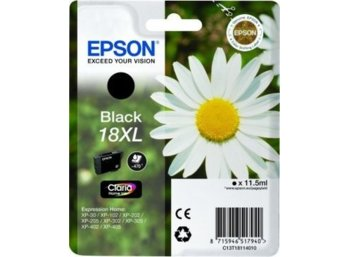 Epson Tusz T1811 BLACK  11.5ml do XP-30/102/20x/30x/40x