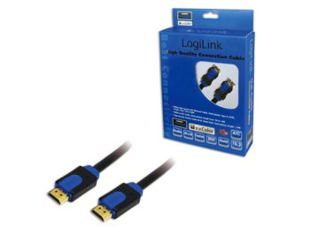 LogiLink Kabel HDMI 1.4 High Speed z Ethernet, dl. 1m