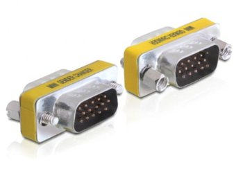 Delock Adapter VGA(15M)->VGA(15M)