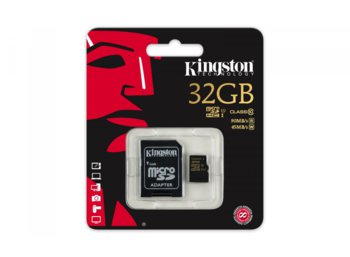 Kingston microSD 32GB Class10 UHS-I 90/45 MB/s