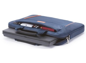 "DICOTA Slim Case BASE 12-13,3""     blue/orange"