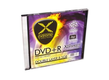 Extreme DVD+R 8,5GB Double Layer x8 - Slim 1