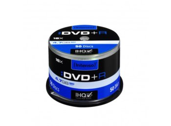 Intenso DVD+R 4.7GB X16 (50 Cake)