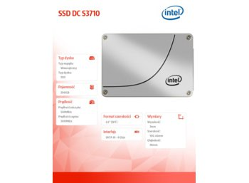 Intel S3710 200GB 2,5'' SSD SATA 6GB/s 20 nm