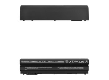 Qoltec Bateria do Dell E6420 15R 17R E5520 E6530 4400mAh,10.8-11.1V