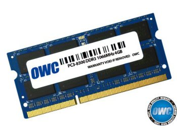 OWC SO-DIMM DDR3 4GB 1066MHz CL7 Apple Qualified