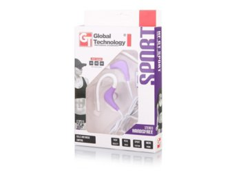 Global Technology HF GT SPORT Fiolet-Bialy 3.5 mm jack