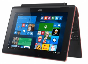 "Acer Aspire Switch SW3-013-18PX Win 10 Z3735F/2GB/32GB+500GB/Micro SD Card Reader/802.11 b/g/n/10.1"" red"