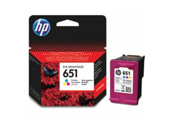 HP Tusz nr 651 Tri-colour C2P11AE