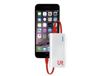 Trust UrbanRevolt PowerBank 4400 Portable Charger - white