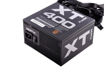 XFX Core XT 400W (80+ Bronze, 2xPEG, 120mm, Single Rail)