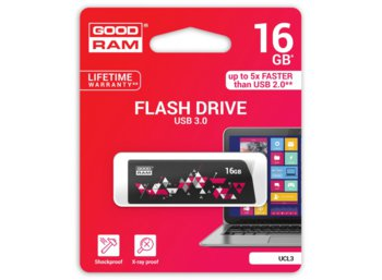 GOODRAM CL!CK  16GB USB 3.0 Black