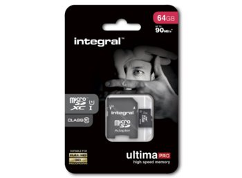 Integral KARTA FLASH MICROSDXC 64GB UHS-I 90MBS