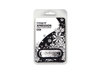 Integral PENDRIVE 8GB USB 2.0 XPRESSION FLOWER