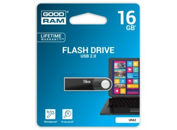 GOODRAM URA2 16GB USB2.0 Black