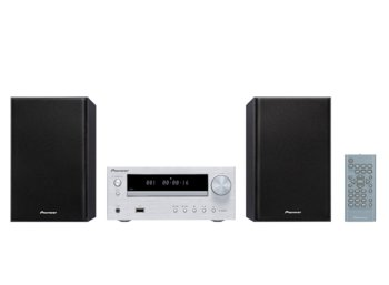 Pioneer X-HM16 silver CD, USB, MP3