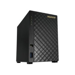Asustor NAS AS1002TV2 Tower 2-dyskowy