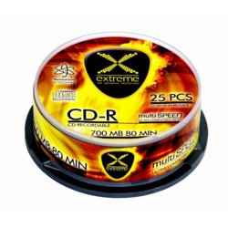 Extreme CD-R 700MB x52 - Cake Box 25