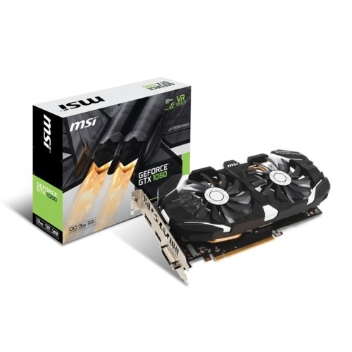 MSI GeForce GTX 1060 OC 3GB 192BIT DVI/HDMI/3DP/EP6