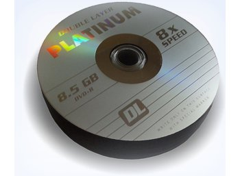 Platinum Poland DVD+R PLATINUM 8,5GB  8x DOUBLE LAYER SZP 25szt