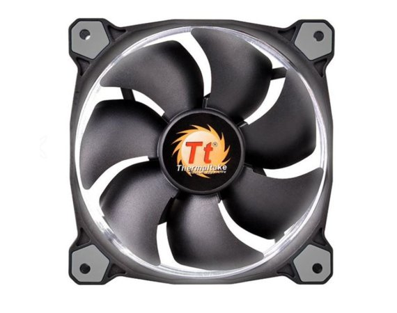 Thermaltake Wentylator Riing 12 LED White (120mm, LNC, 1500 RPM) Retail/Box