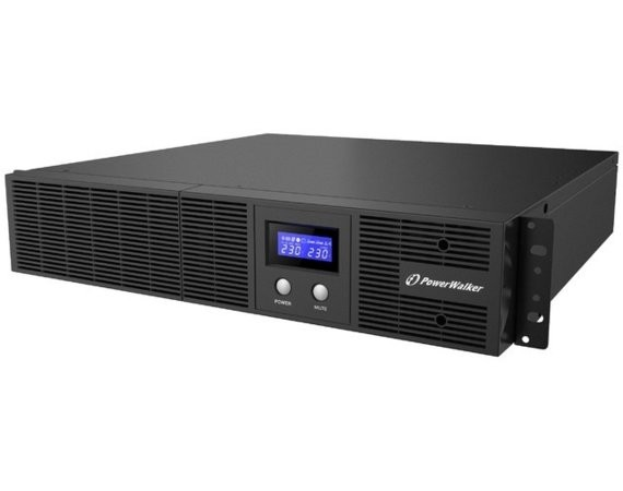 PowerWalker UPS Line-Interactive 1200VA Rack 19 4x IEC Out, RJ11/RJ45 In/Out, USB, LCD, EPO