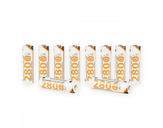 Whitenergy Akumulatory 10xAA 2800mAh
