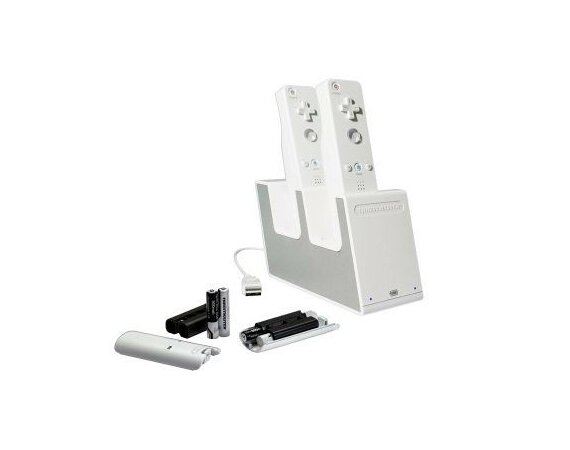 Thrustmaster Ładowarka do 2 Wii Remote T- Charge Duo NW