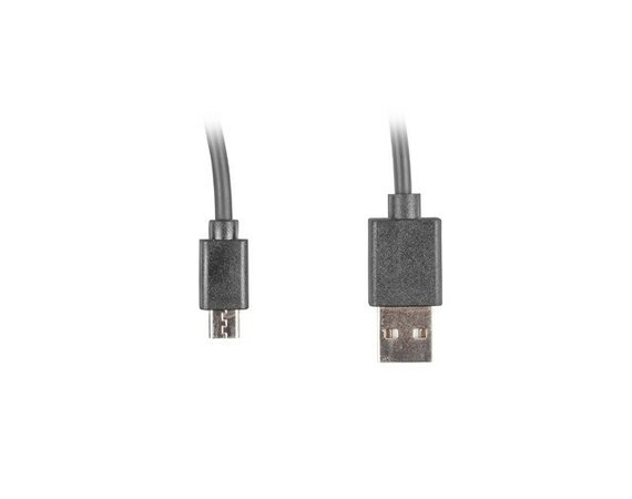 LANBERG Kabel Micro USB - AM 2.0; 1m Easy-USB czarny