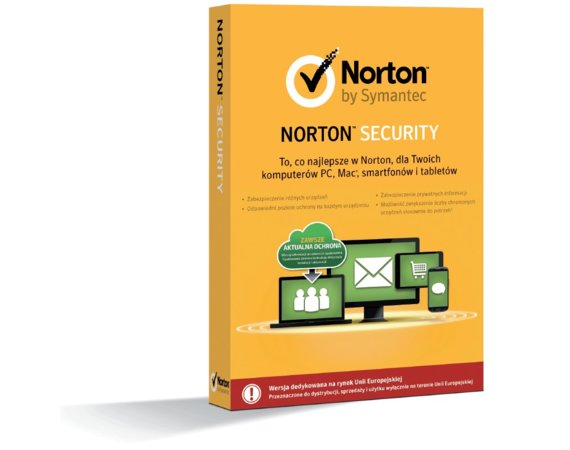 Symantec Norton Security 2.0 PL BOX 1User 5Devices 1Year 21333456