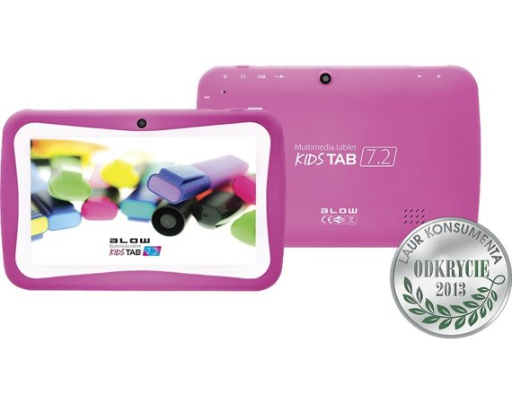 BLOW Tablet kidsTAB 7'' QUAD CORE PINK + etui
