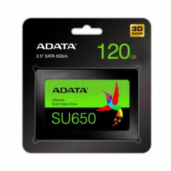 Adata Dysk SSD Ultimate SU650 120G 2.5 S3 3D TLC Retail