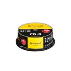Intenso CDR 700MB Printable (25 Cake)