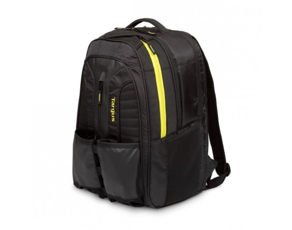 Targus Work + Play Rackets 15.6'' Laptop BackPack - Czarny/Żółty