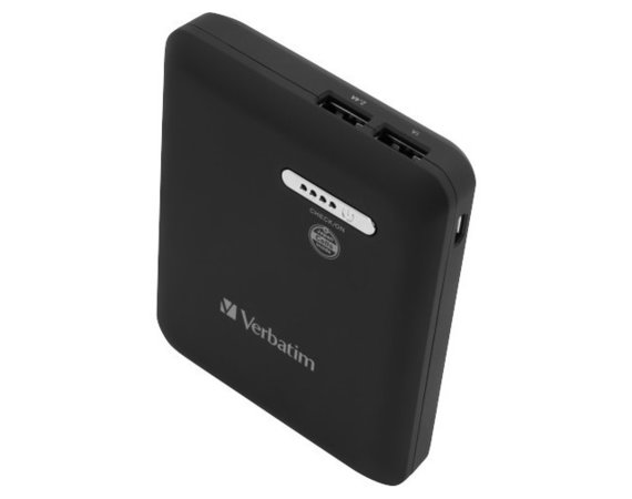 Verbatim Power Bank 13600mAh 2x USB + 1x micro USB czarny