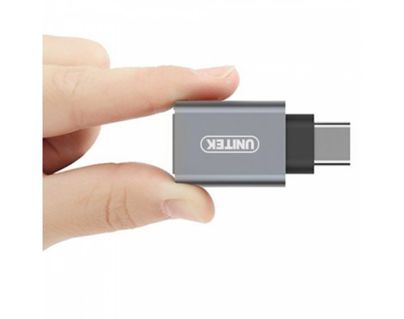 Unitek Adapter USB TYP-C do USB (F ); Y-A025CGY