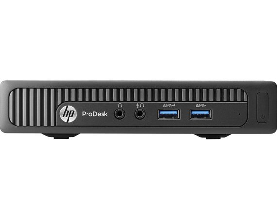 HP Inc. Komputer Poleasingowy ProDesk 600 G1 DM USFF i5-4570T 4GB 120GB SSD DVD-RW Windows 10 Home + Fsecure Internet Security 12m