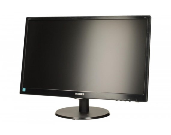 Philips Monitor 21.5 223V5LSB  LED DVI Czarny
