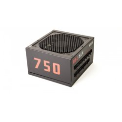 XFX Zasilacz XTR2 750W Full Modular (80+ Gold, 6xPEG, 120mm, Single Rail)