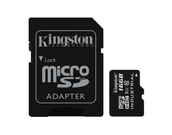 Kingston microSD 16GB CL10 UHS-I 90/45MB/s Industrial