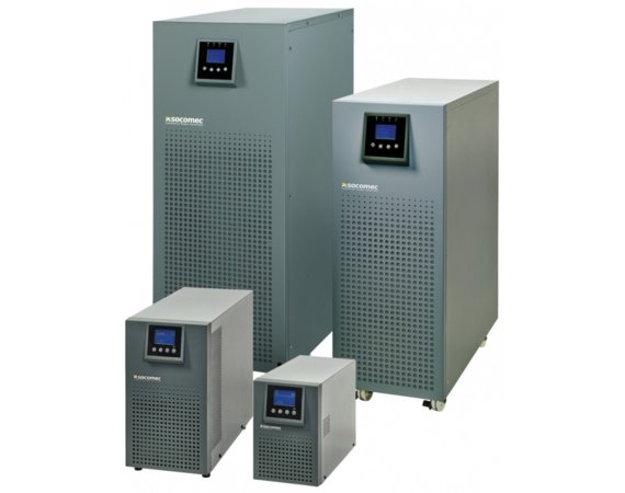 Socomec UPS ITYS 3000VA/2400W TOWER ON-LINE VFI 4xIEC320/EPO