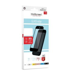 MyScreen Protector  LiteGLASS EDGE FG Szkło do Apple iPhone 6/S czarne