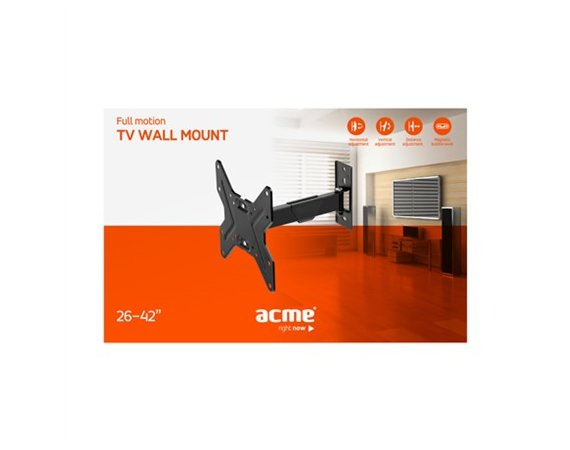 ACME Europe Uchwyt MTSM13 do LCD LED TV 26-42 full mountion