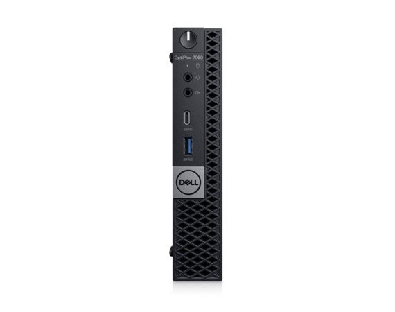 Dell Komputer Optiplex 7060MFF W10Pro i7-8700T/16GB/256GB/Intel UHD 630/WLAN + BT/KB216/MS116/vPro/3Y NBD