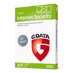 G DATA Internet Security 2018 BOX 2+2 20M-CY