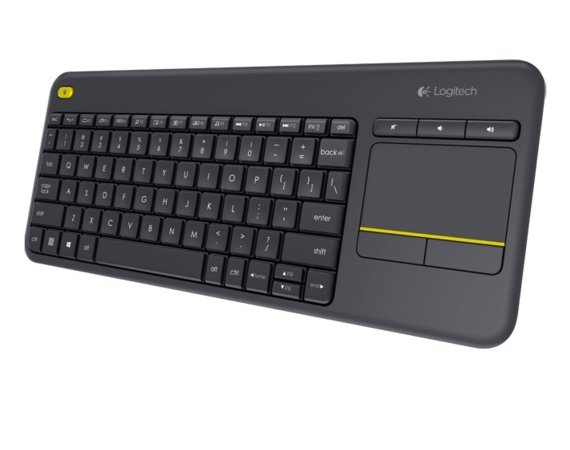 Logitech K400 Plus Wireless Touch Keyboard Czarna