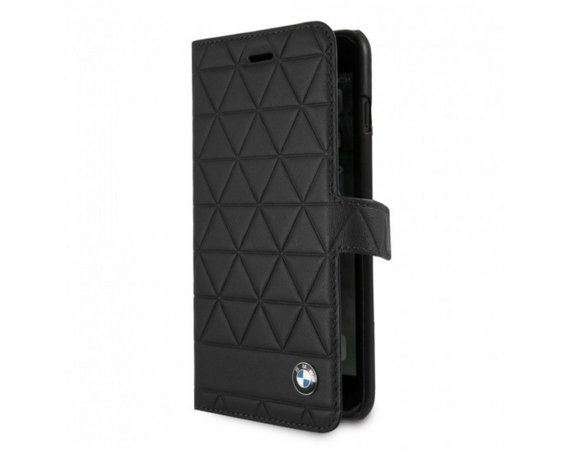 BMW Book BMFLBKI8LHEXBK iPhone 7 Plus/8 Plus czarny Hexagon