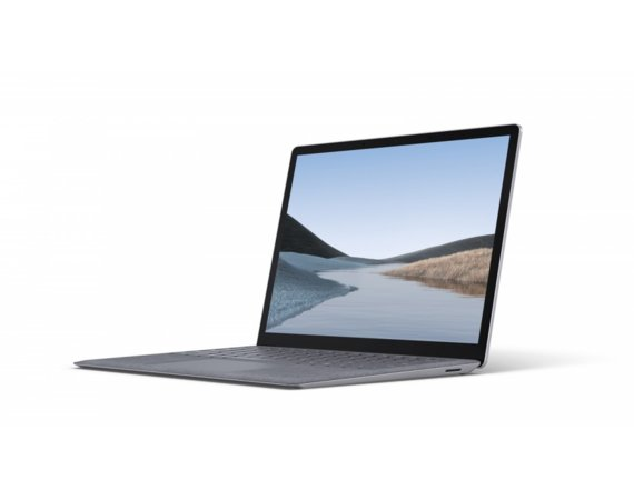 Microsoft Surface Laptop 3 Win10Pro i5-1035G7/8GB/128GB/13.5 Commercial Platinum Alcantara PKH-0008
